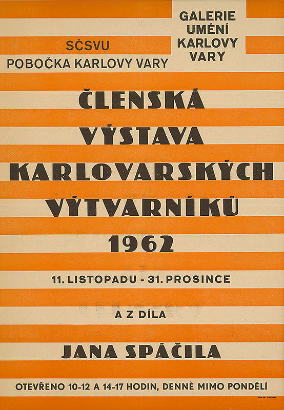 Český autor - Členská výstava karlovarských výtvarníkov
