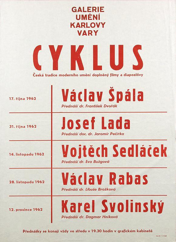 Český autor – Cyklus prednášok - Česká tradícia moderného umenia