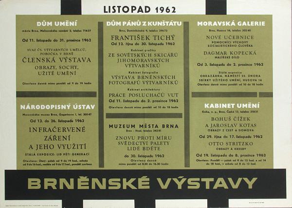 Moravský autor – Brnenské výstavy