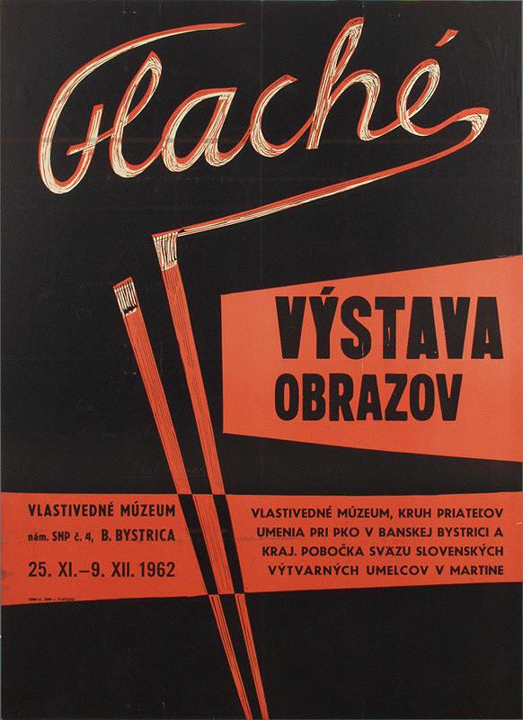 Slovenský autor – Výstava obrazov - Flache