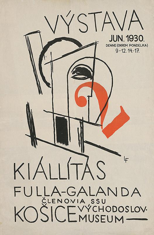 Ľudovít Fulla – Fulla - Galanda. Východoslov. museum, Košice