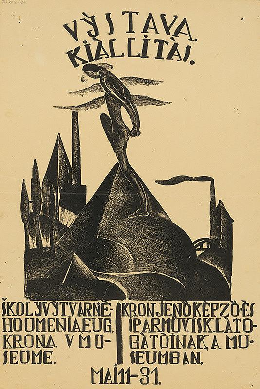 Košický autor - Výstava školy výtvarného umenia - E.Króna