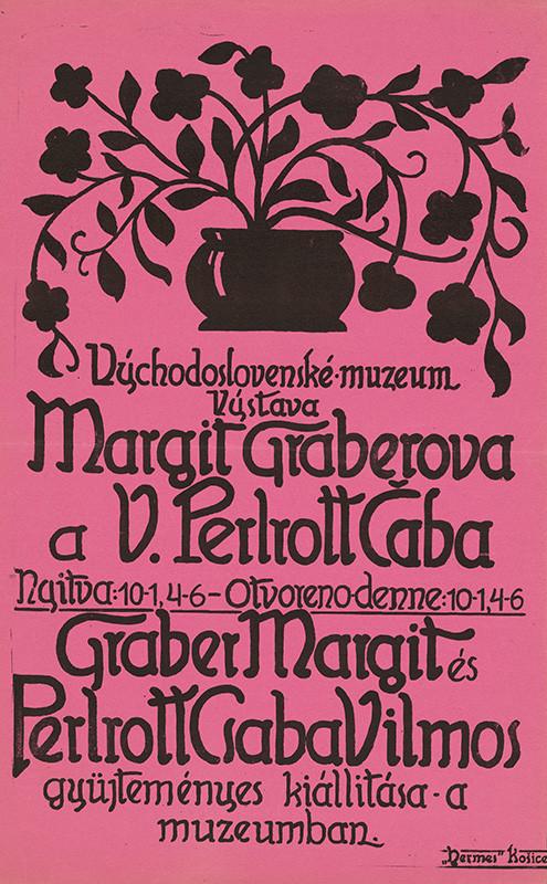 Neznámy autor – Výstava Margit Graberová a V. Perlrott Čaba, 1920, Slovenská národná galéria
