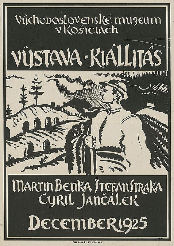 Martin Benka – Výstava - Martin Benka,Štefan Straka,Cyril Jančálek