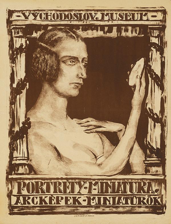 Košický autor - Portréty,miniatúra