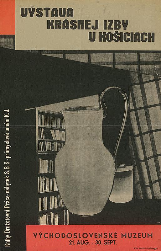 Ladislav Sutnar – Výstava Krásnej izby v Košiciach. Východoslovenské muzeum