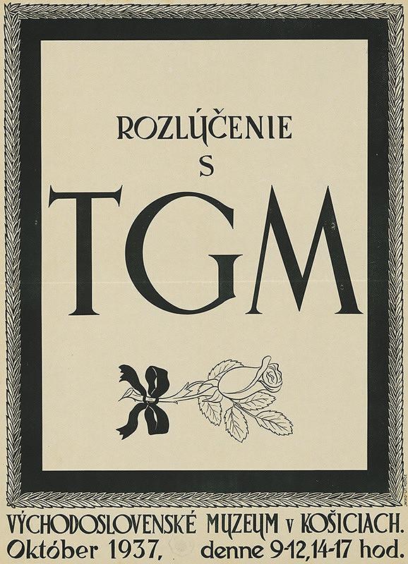 Slovenský autor z 1. polovice 20. storočia – Rozlúčenie s TGM