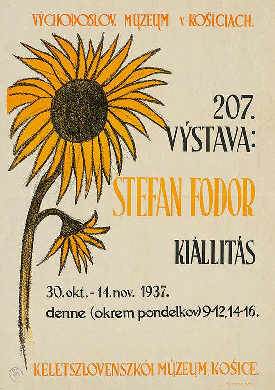 Slovenský autor z 1. polovice 20. storočia – Výstava - Štefan Fodor
