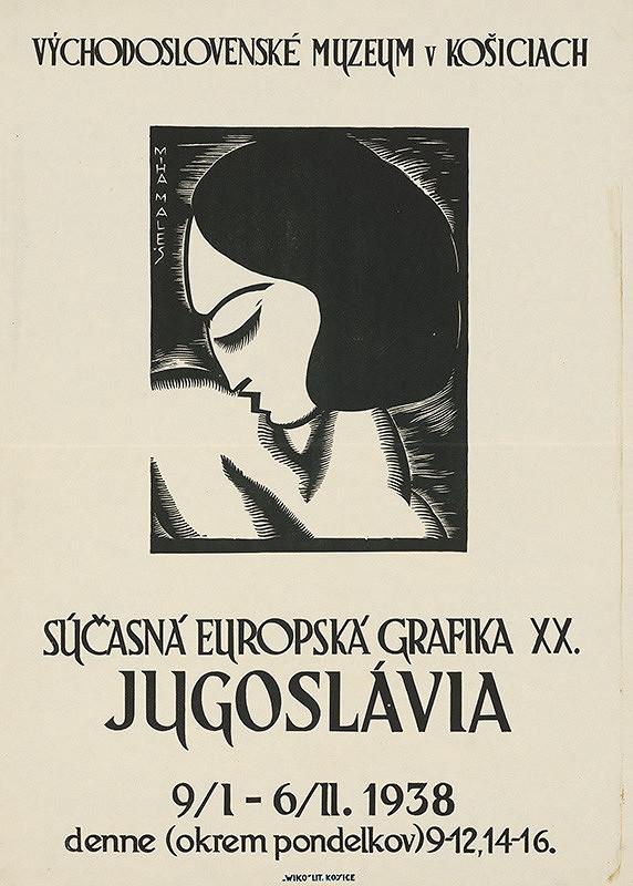 Košický autor - Súčasná európska grafika XX-Juhoslávia
