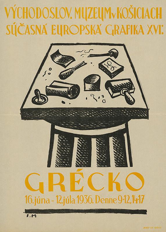 Slovenský grafik I.M. – Súčasná európska grafika XVI Grécko