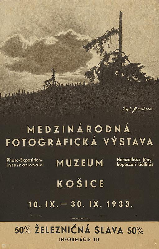 Košický autor - Medzinárodná fotografická výstava-múzeum Košice