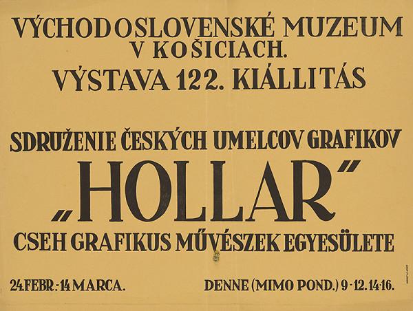 Košický autor - Združenie českých umelcov grafikov - Hollar