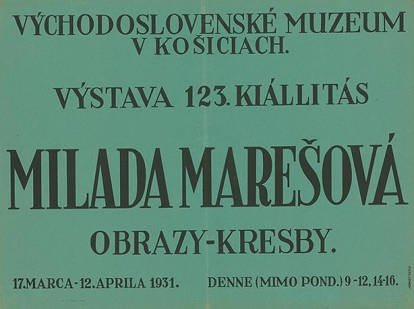 Košický autor - Obrazy a kresby - Milada Marešová