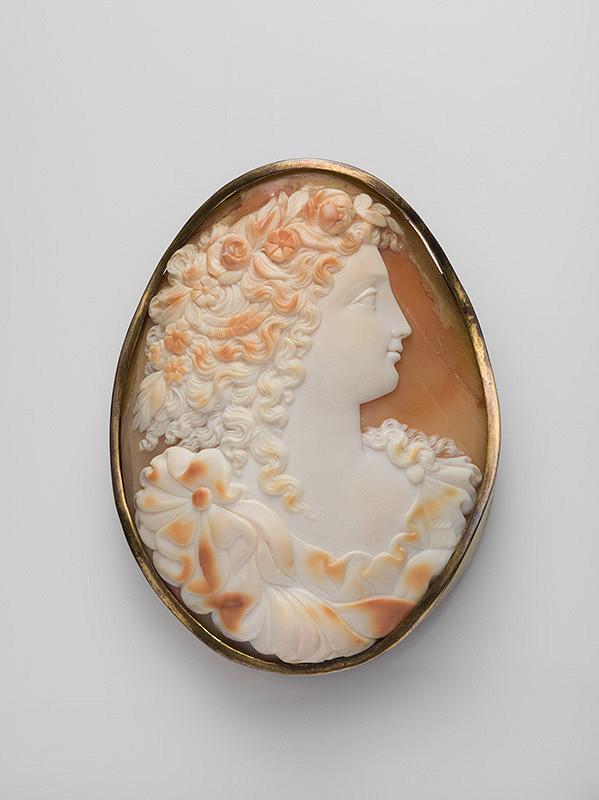 Francúzsky remeselník z 18. storočia - Brošňa