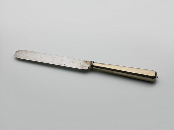 Slovenský remeselník zo začiatku 20. storočia – Príbor - nôž