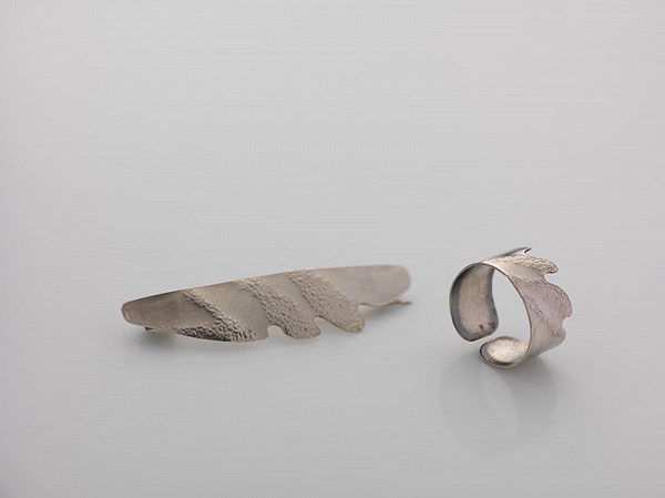 Natália Mudrochová - Brošňa a prsteň