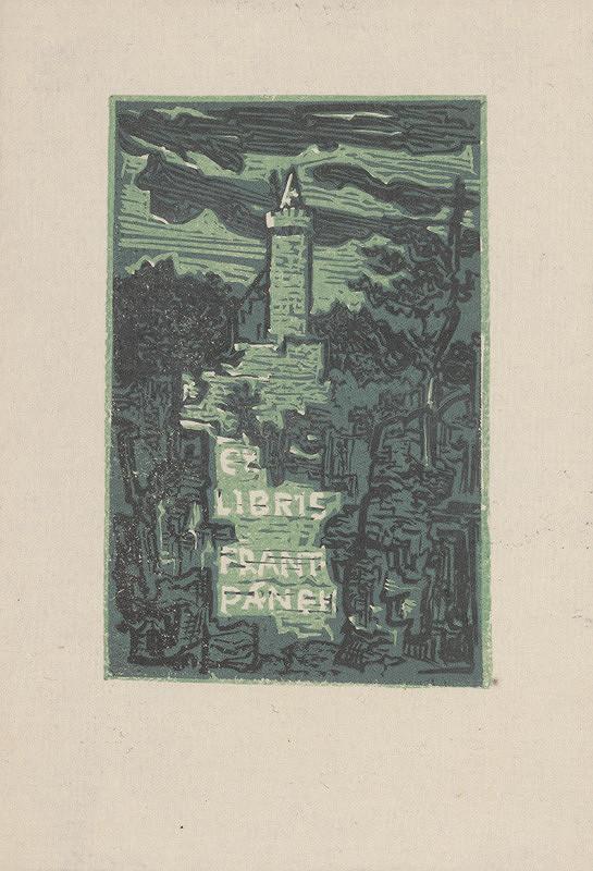 Jaroslav Vodrážka – Ex libris F. Pánek