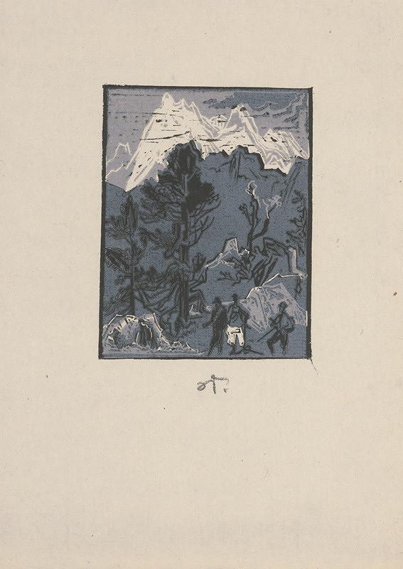 Jaroslav Vodrážka – V horskej krajine