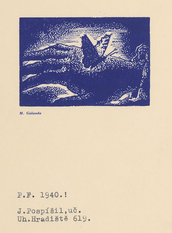 Mikuláš Galanda – Motýľ