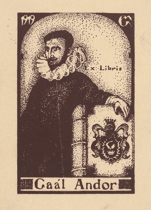 Mikuláš Galanda – Ex libris Gaál Andor
