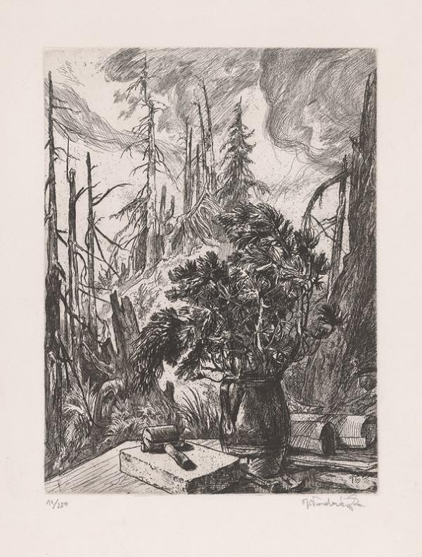 Jaroslav Vodrážka – Lesné zátišie