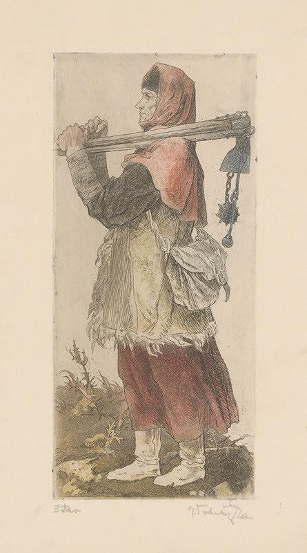 Jaroslav Vodrážka – Husitská žena