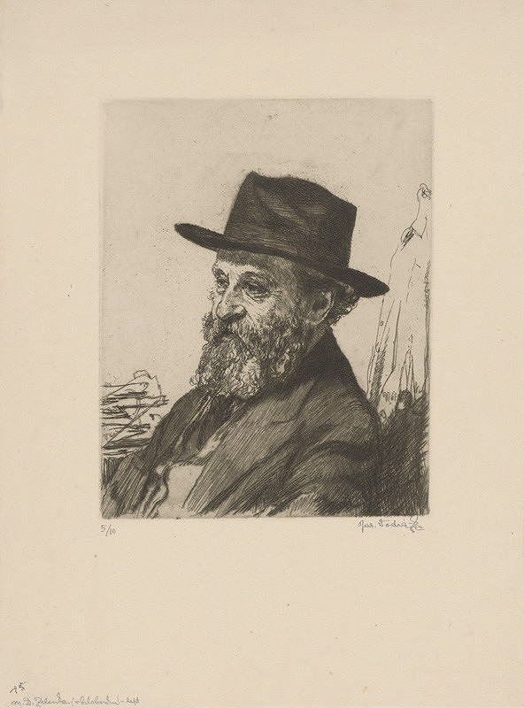 Jaroslav Vodrážka – M.D.Zelenka v klobúku
