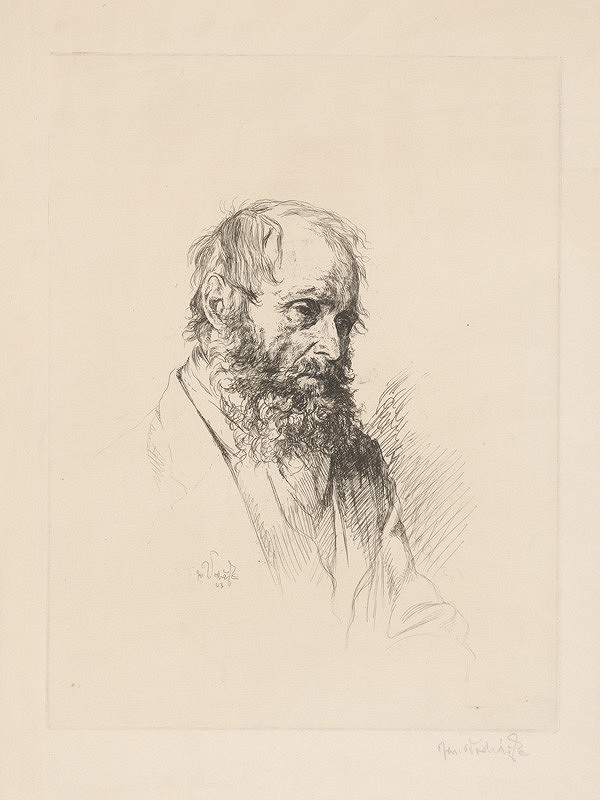 Jaroslav Vodrážka – Muž s bradou