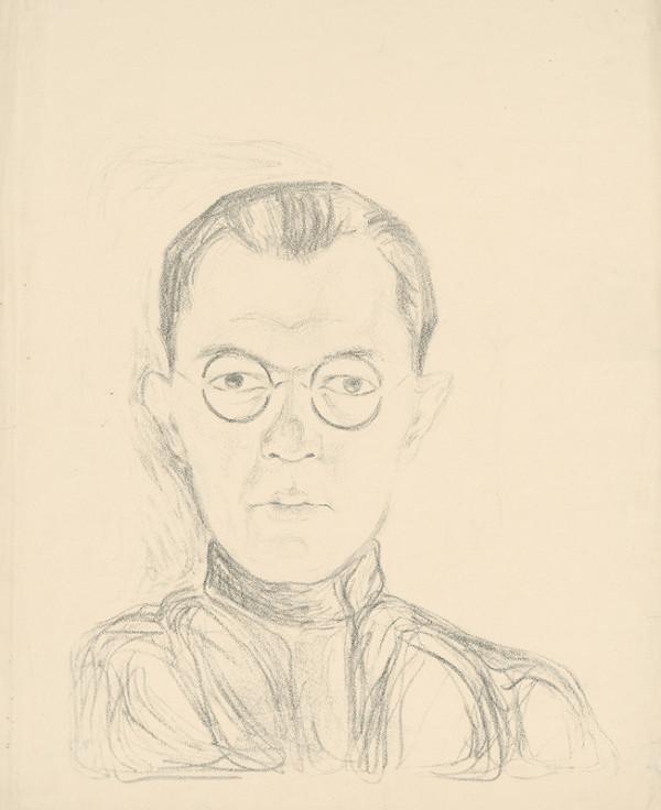 Mikuláš Galanda – Autoportrét