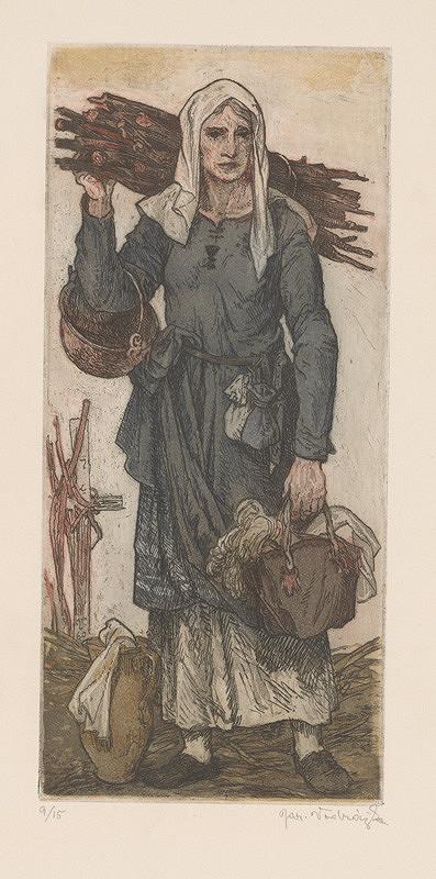 Jaroslav Vodrážka – Husitská žena II