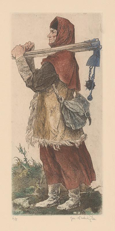 Jaroslav Vodrážka – Husitská žena I