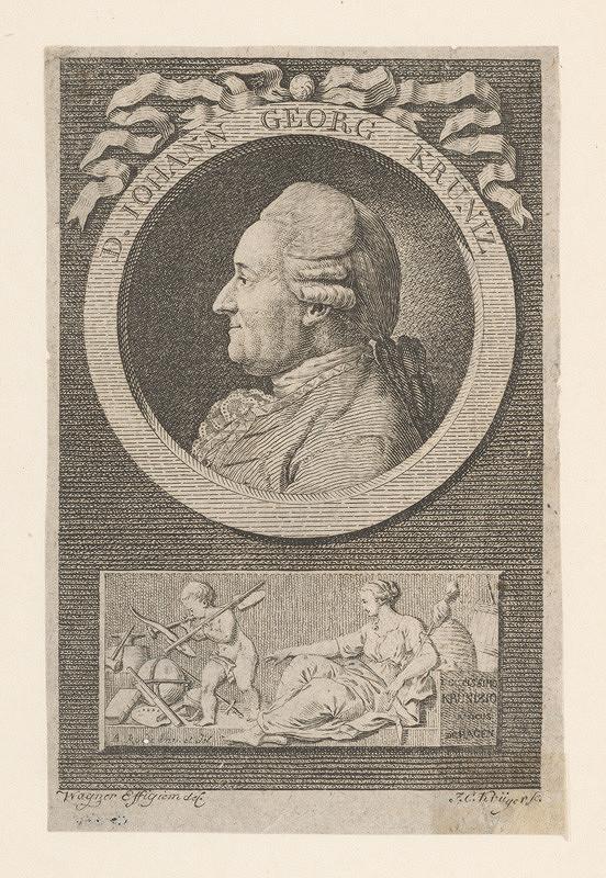 Franz Krüger – Podobizeň Johanna Georga Krünza