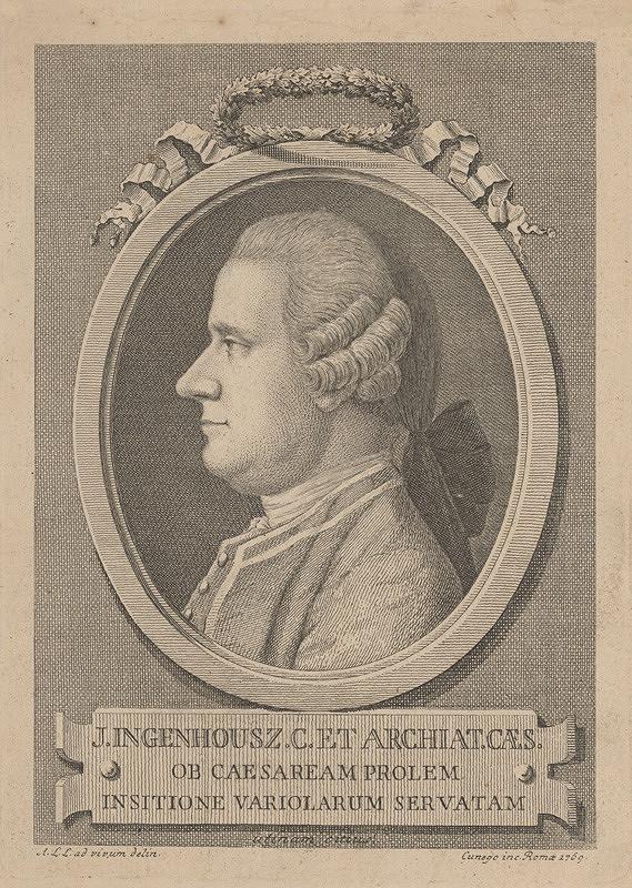 Domenico Cunego – Podobizeň J.Ingenhousza