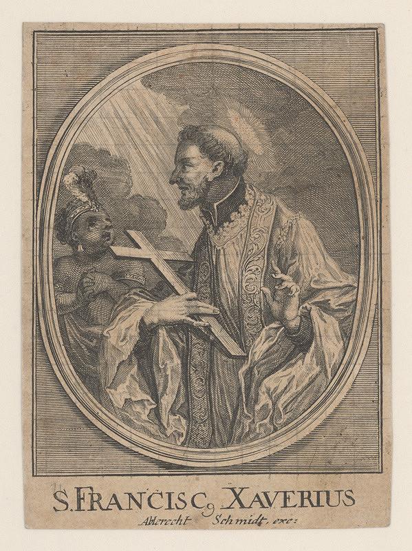 Albrecht Schmidt – Svätý František Xaverský