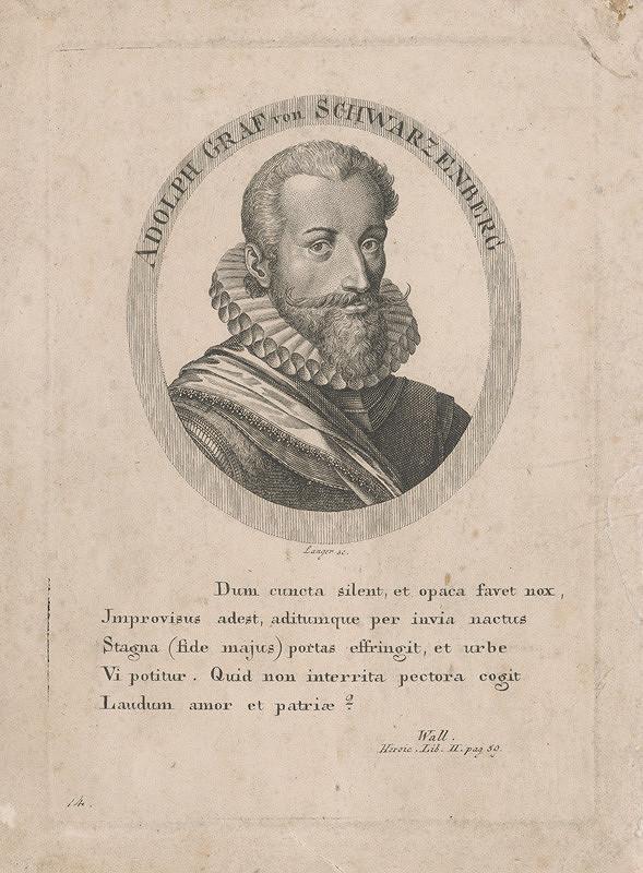 Sebastian Langer – Podobizeň grófa Adolfa Schwarzenberga