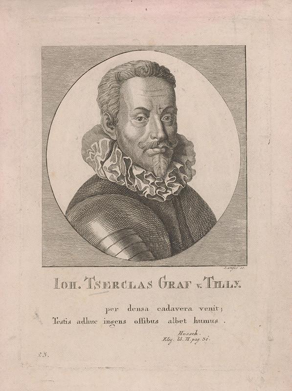 Sebastian Langer – Podobizeň Jána Ts., grófa z Tilly