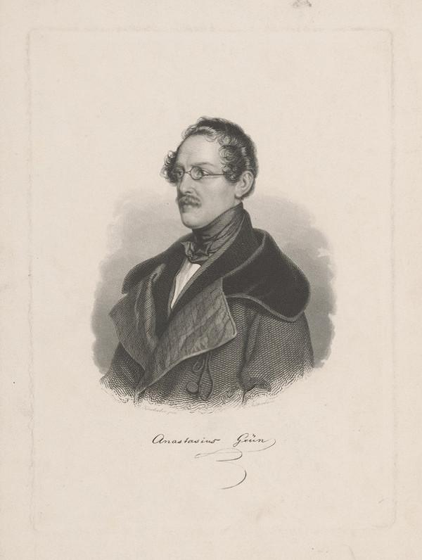 Karl Kotterba – Podobizeň Anastázia Grüna