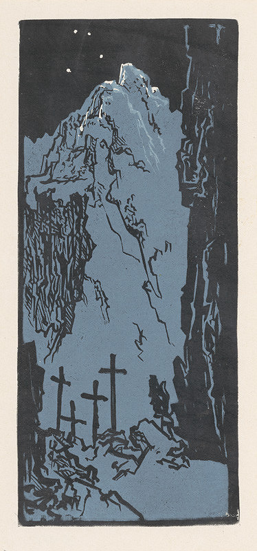 Jaroslav Vodrážka – Cintorín v noci
