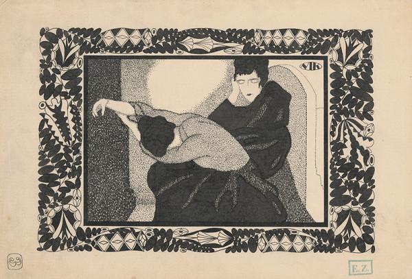 Mikuláš Galanda – Kresba k časopisu - strana 3