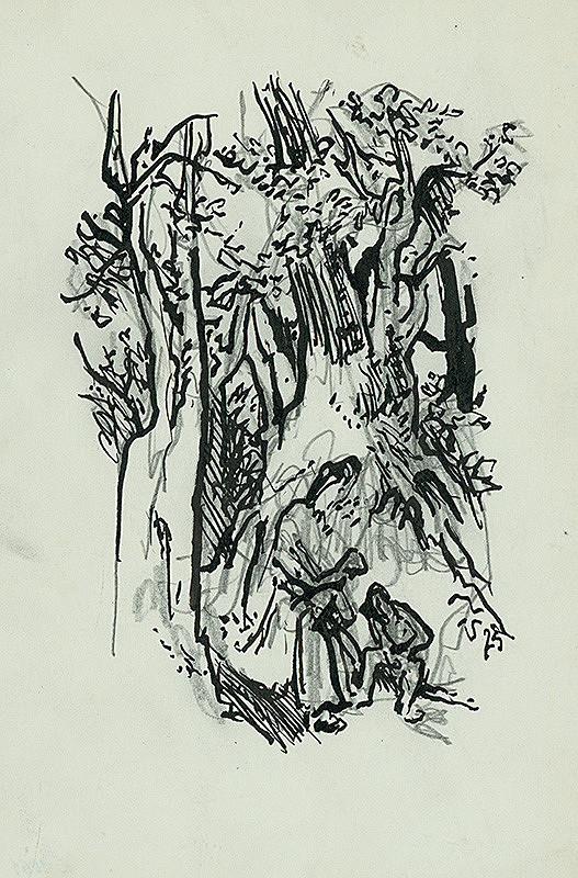 Jaroslav Vodrážka – Oddych pod stromami