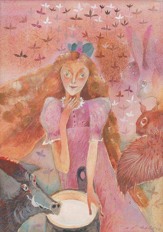 Alžbeta Štefunková-Szabová – Mliekárka rozprávačka