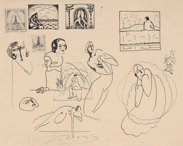 Mikuláš Galanda – Kresebné štúdie