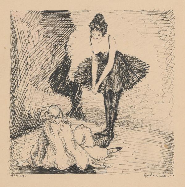 Mikuláš Galanda – Baletka a šašo
