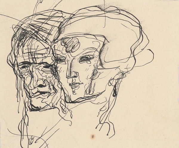 Mikuláš Galanda – Dve hlavy. Muž a žena