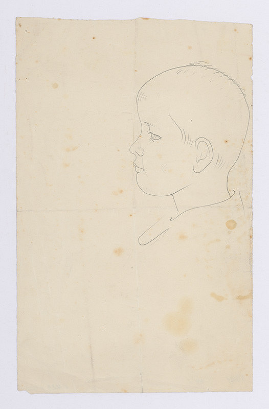 Mikuláš Galanda – Hlava chlapca z profilu