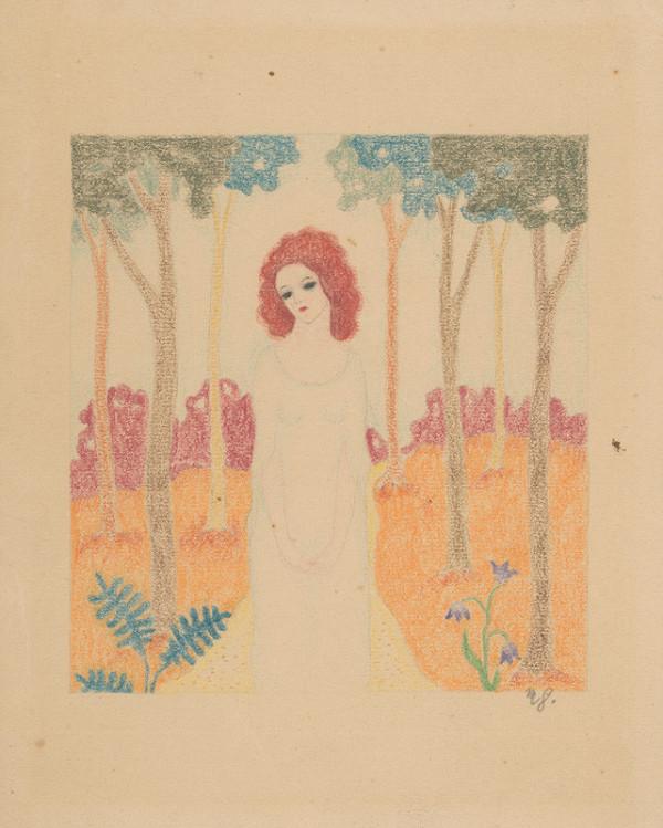 Mikuláš Galanda – Dievča v parku