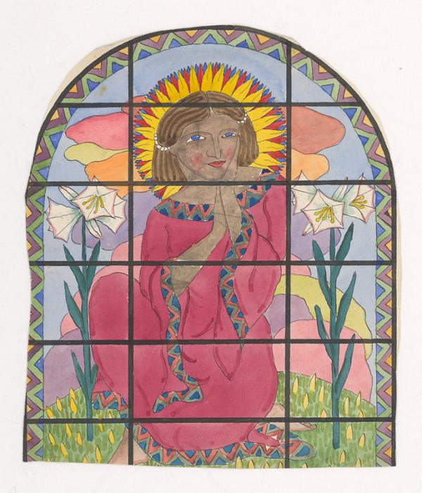 Mikuláš Galanda – Dievča so zlatou žiarou