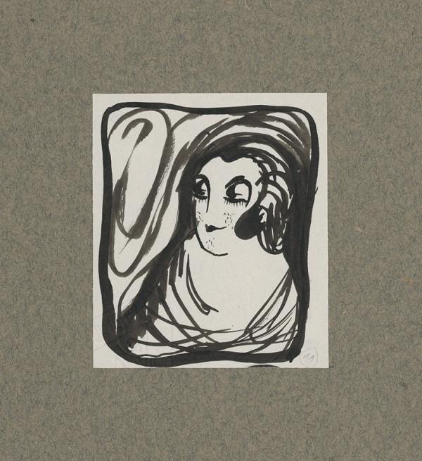 Mikuláš Galanda – Hlava ženy