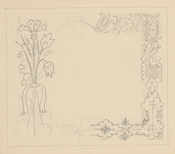 Mikuláš Galanda – Ornamentálna štúdia