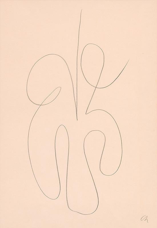 Serge Charchoune – Ornamentálny motív XX.